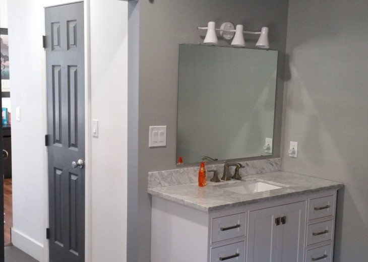 3rd Floor Master bath and vanity