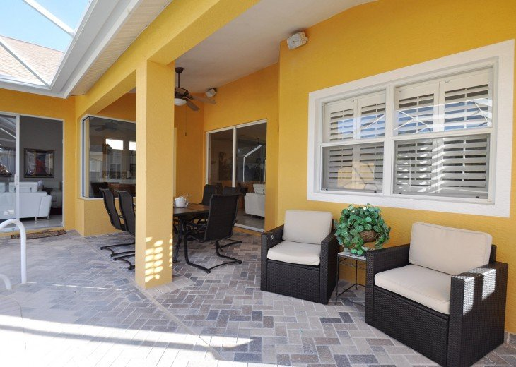 Beautifully furnished 4 bedroom house with heated pool and jacuzzi #3