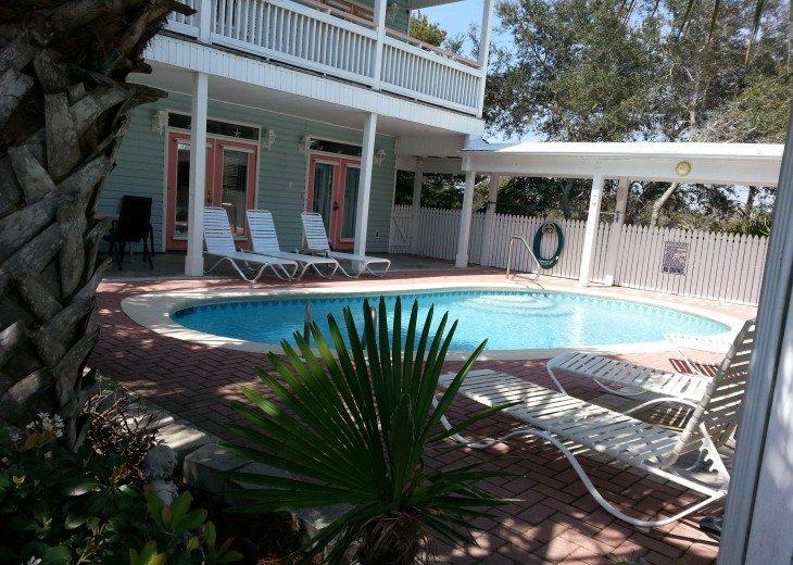5 Bedroom,5.5 Bath, Private Pool, Carriage House, Close to Beach, Sleeps 16 #3