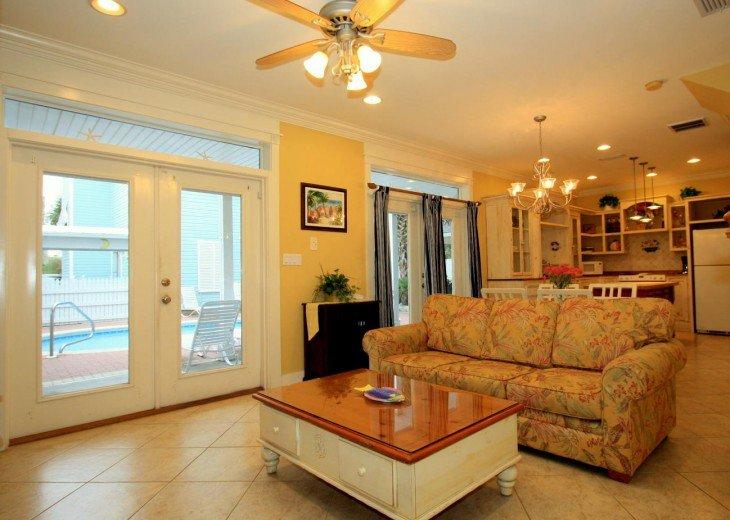 5 Bedroom,5.5 Bath, Private Pool, Carriage House, Close to Beach, Sleeps 16 #13