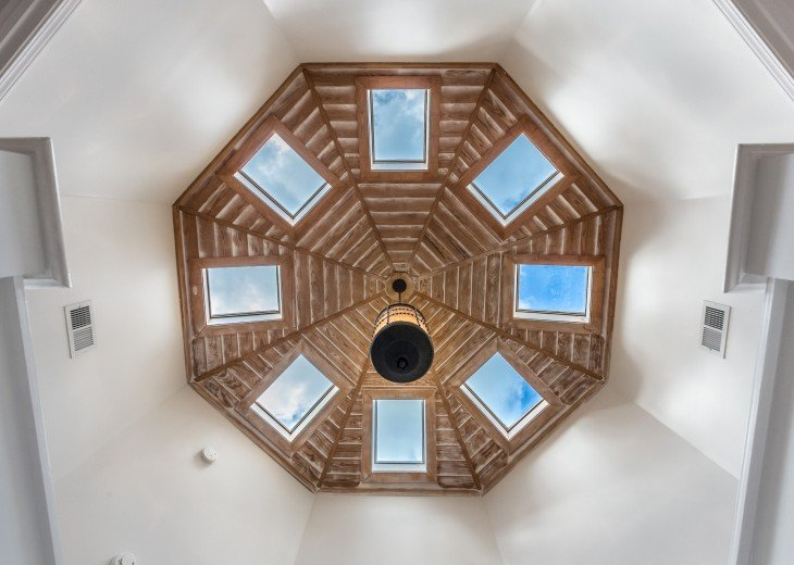 Octo Skylights at Top Of Staircase