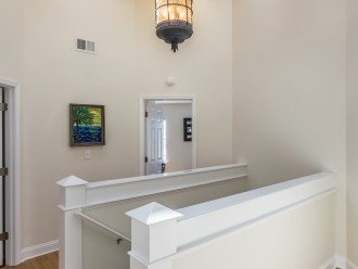 Top Of Stairs Where Bedrooms Are Located
