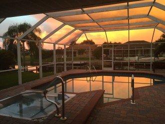 Sunset swim annyone?