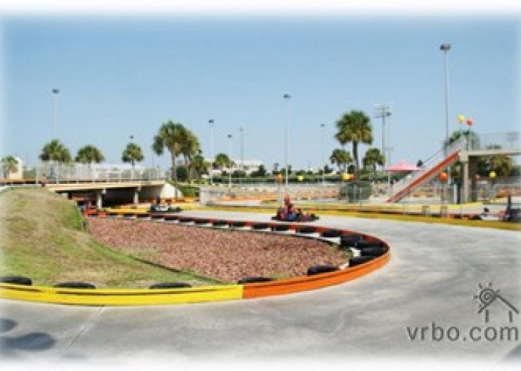 Go cart ,track racing in town