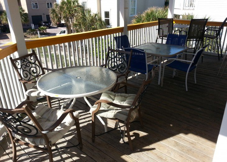 3 sets comfy deck furniture