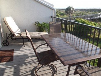 Beautiful Direct Oceanfront Town Home St. Augustine Beach #1