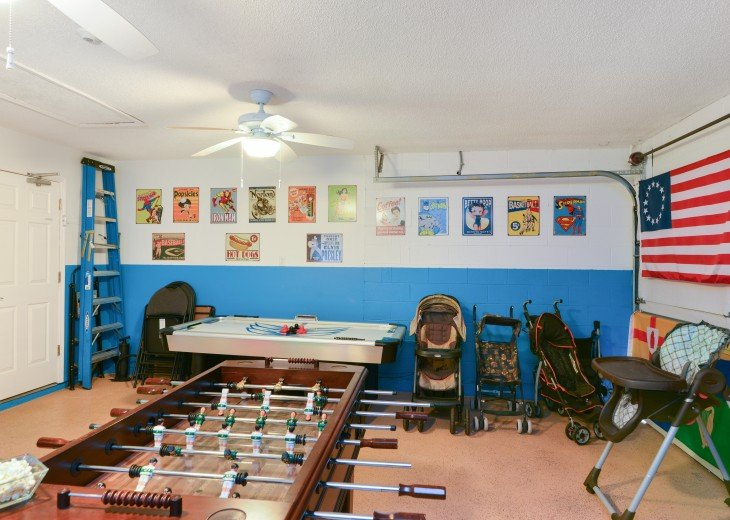 Amazing 5 Star; 4/3, 2 en suite; A/C Games Room; +++ #21