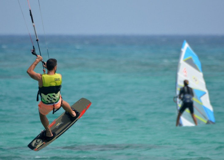 Kite & windsurfing happens here.