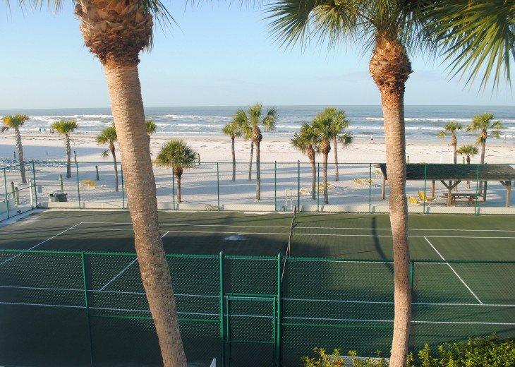 Beachfront Tennis Court