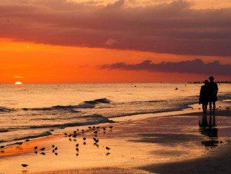 Sunset here on Crescent Beach.