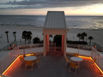 One of two perfect sundeck to catch our famous sunsets from.