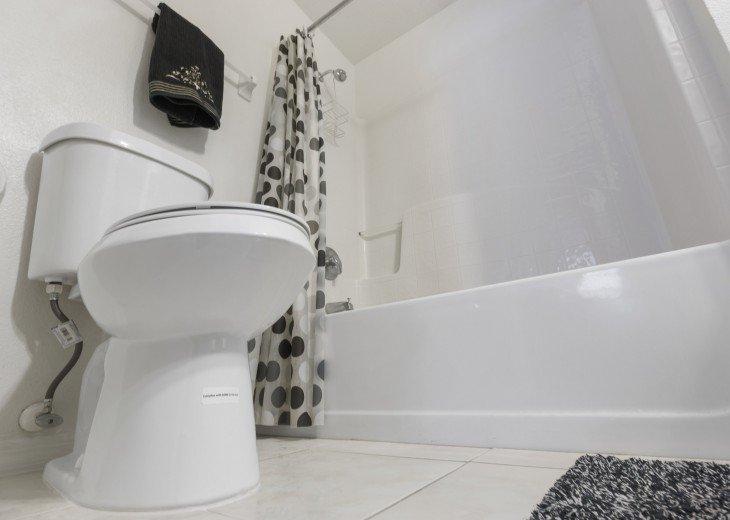 European toilets throughout
