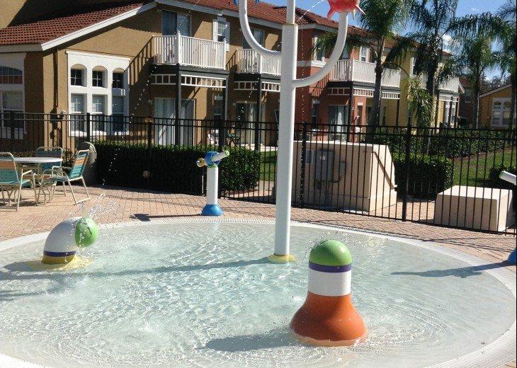 Community kiddy splash area
