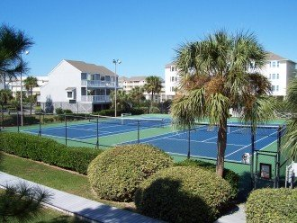 Barrier Dunes has 2 tennis courts, a gulf side community pool and a heated pool.