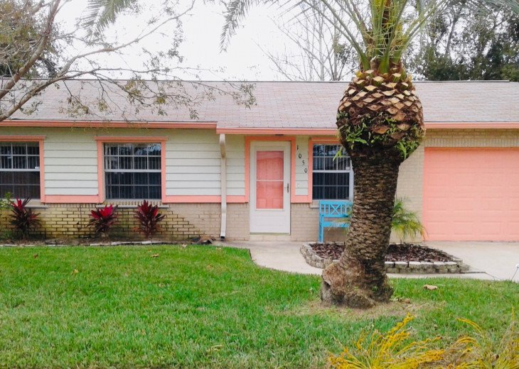3 Bedroom Pool Home, Quiet Daytona area. Sleeps 9, Near Beach, Speedway, Golfing #11