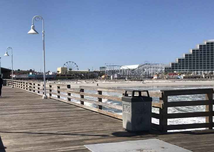 Main Pier view to boardwalk