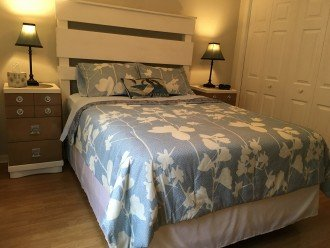 One Of Two Guest Bedrooms with Queen Size Bed