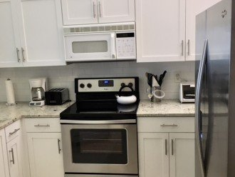 Remodeled kitchen with SS appliances