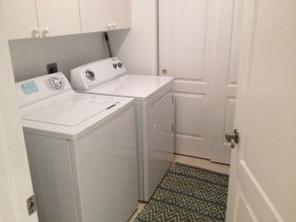 washer/dryer inside condo