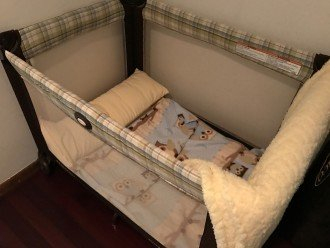 Baby cot x 2 available.