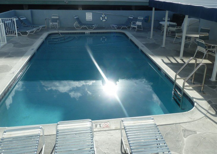Heated community pool