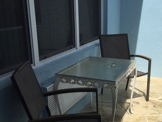 Your own private terrace
