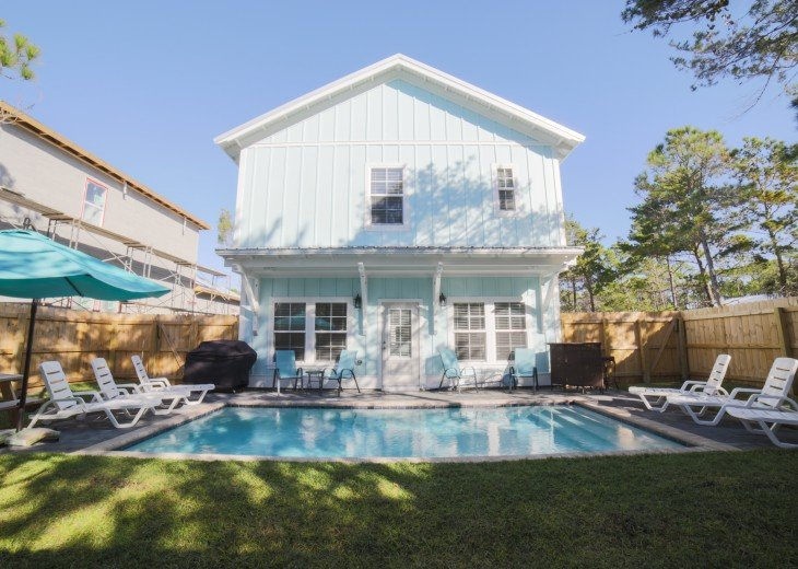 The Sandy Feet Retreat! 6bed 6bath with private heated pool! #21