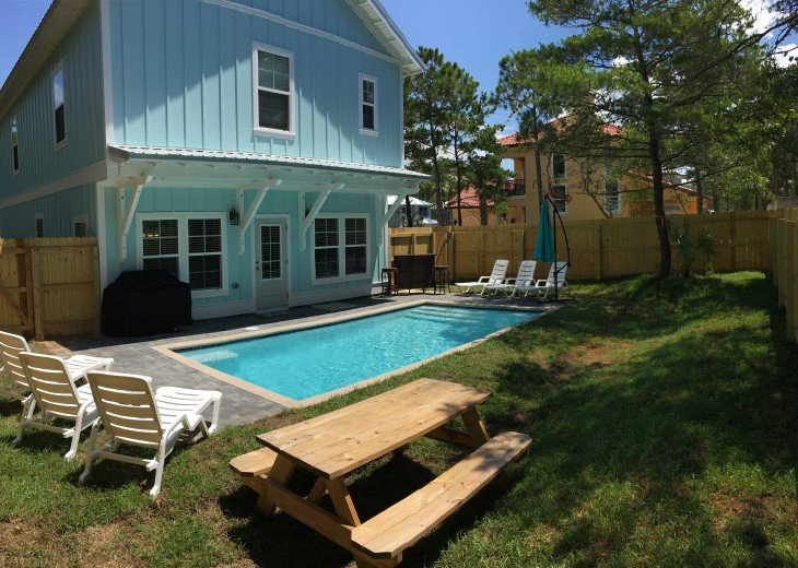The Sandy Feet Retreat! 6bed 6bath with private heated pool! #3