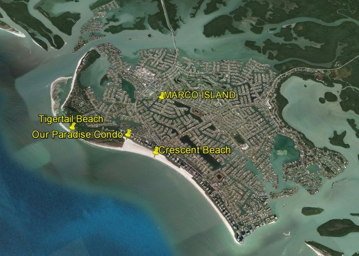 Overview of the Island and where we are located.