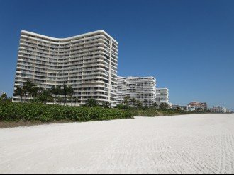Building 4 from the beach Condo is on the 11th Floor