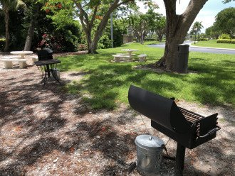 Grilling and picnic area just beyond the Undercover parking garage!