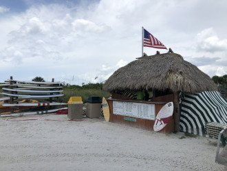 Have FUN with many water items to rent at the Tiger Tail Beach rental center!