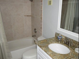 Updated bath for 2nd bedroom and guests.