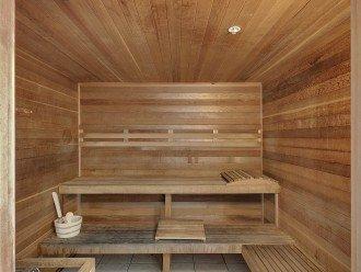 Sauna on 3rd floor