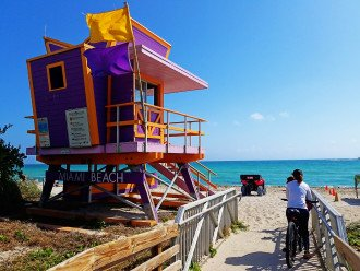 Must See! 2/2 South Beach Art Deco Gem- Sleeps 8/Wifi/4 Queen Beds #1