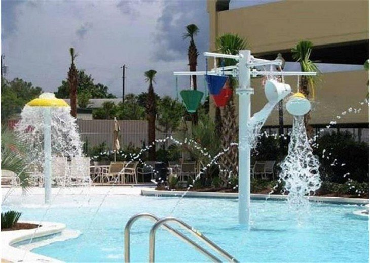 Water park like fun for the kids!