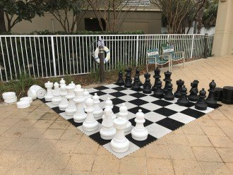 King Size Chess Set!