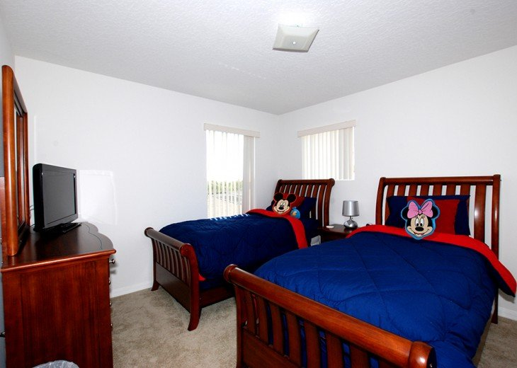 Twin room 2 - Mouse room with Jack 'n' Jill ensuite
