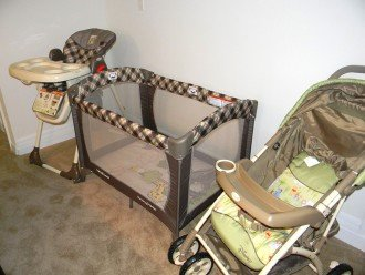 Baby equipment - also includes steam sterilisers/baby monitor/plasticware