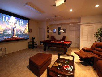 Cinema/Games room - Includes various board games and air conditioning