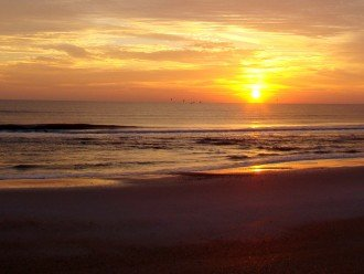 my favorite mornings - beach is a short walk