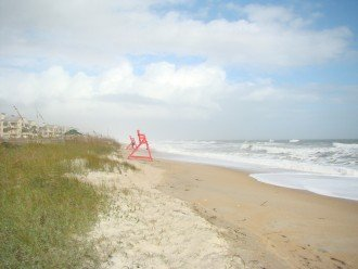 Ponte Vedra Beach during a storm