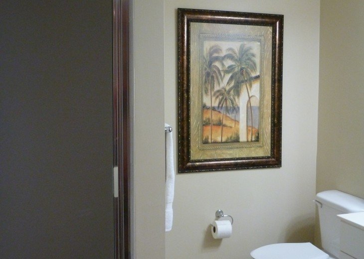 Bathroom #2 with stand up shower