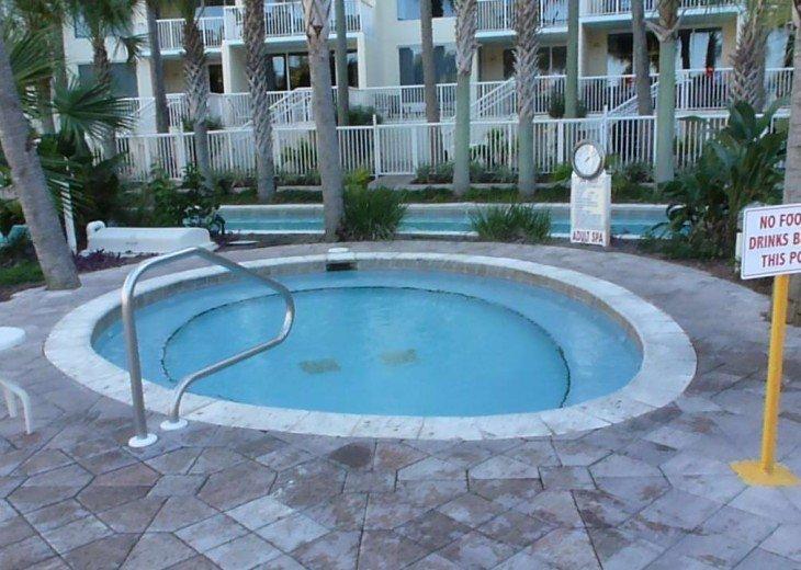 Bayside hot tub