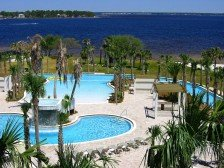 Destin West.Lazy river pool. Lowest 1 BR with bunks. March 23rd wk & after avail #1