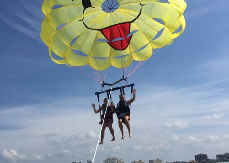 See Marco Island from Above with a Parasailing Adventure