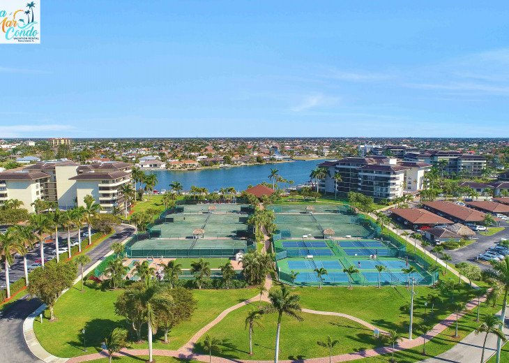 South Seas tennis and pickleball courts available for our guests.