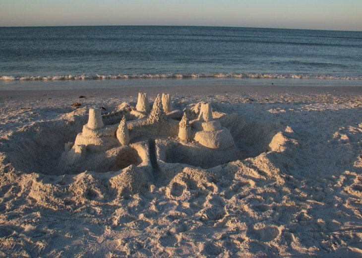 Build a Sand Castle (But fill in the holes during Turtle Season)