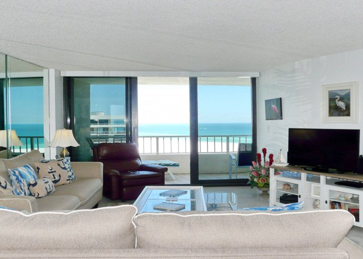 Sea Mar Condo has an awesome view of South (Crescent) Beach