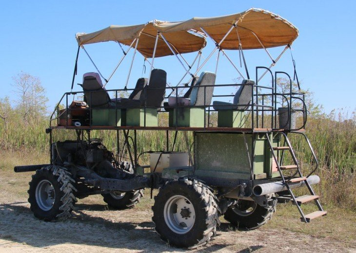 Take a Swamp Buggy Ride Through the Everglades